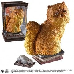 HARRY POTTER MAGICAL CREATURES - CROOKSHANKS STATUA FIGURE NOBLE COLLECTIONS