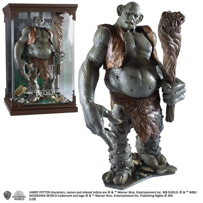 HARRY POTTER MAGICAL CREATURES - TROLL STATUA FIGURE NOBLE COLLECTIONS