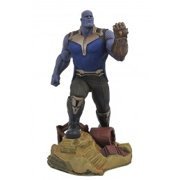 DIAMOND SELECT MARVEL GALLERY - AVENGERS 3 INFINITY WAR THANOS 25CM STATUE FIGURE