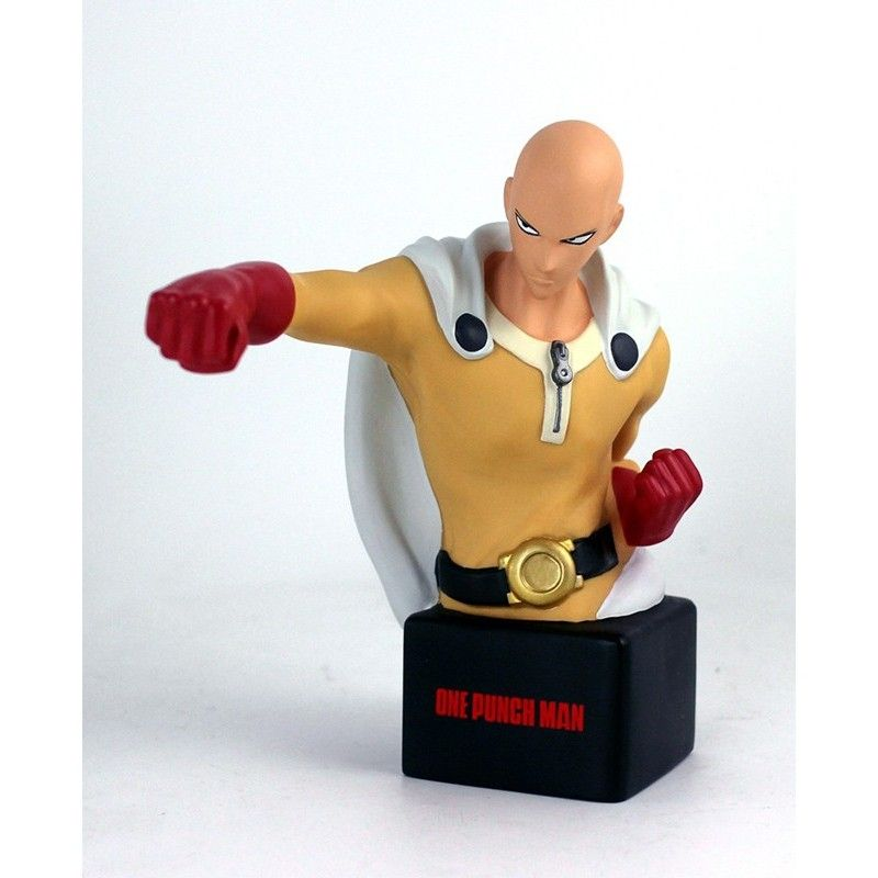 ONE PUNCH MAN - SAITAMA BUST BANK FIGURE