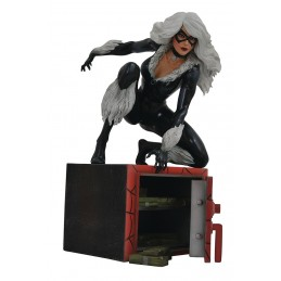 MARVEL GALLERY BLACK CAT COMICS GATTA NERA STATUE FIGURE