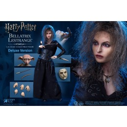 HARRY POTTER BELLATRIX LESTRANGE DELUXE WITH DOBBY 1/6 SCALE ACTION FIGURE