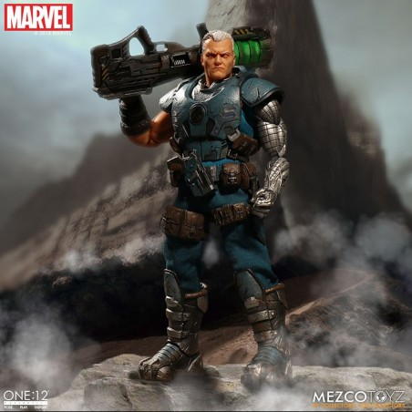 MARVEL X-MEN CABLE CLOTH ONE:12 ACTION FIGURE