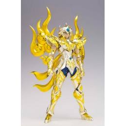 SAINT SEIYA MYTH CLOTH EX SOUL OF GOLD LEO AIOLIA GOLD CLOTH ACTION FIGURE