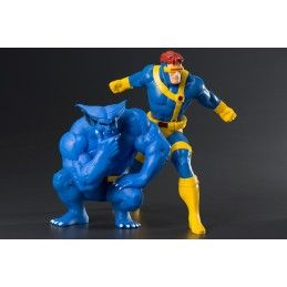 MARVEL X-MEN CYCLOPS AND BEAST 2-PACK ARTFX+ STATUE FIGURE KOTOBUKIYA