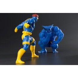 KOTOBUKIYA MARVEL X-MEN CYCLOPS AND BEAST 2-PACK ARTFX+ STATUE FIGURE