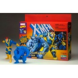 MARVEL X-MEN CYCLOPS AND BEAST 2-PACK ARTFX+ STATUE FIGURE