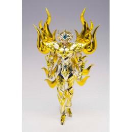 SAINT SEIYA MYTH CLOTH EX SOUL OF GOLD LEO AIOLIA GOLD CLOTH ACTION FIGURE