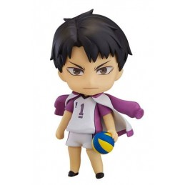 HAIKYU!! NENDOROID WAKATOHI USHIJIMA ACTION FIGURE ORANGE ROUGE