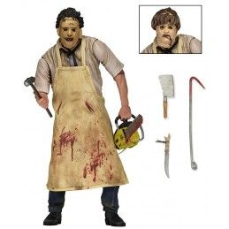 THE TEXAS CHAINSAW MASSACRE LEATHERFACE ULTIMATE ACTION FIGURE NECA