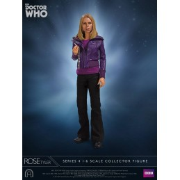 DOCTOR WHO SERIES 4 - ROSE TYLER 1/6 SCALE 30CM ACTION FIGURE