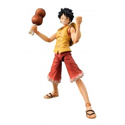 ONE PIECE VARIABLE ACTION HEROES LUFFY YELLOW VER. ACTION FIGURE MEGAHOUSE