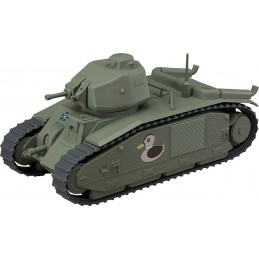 GIRL UND PANZER NENDOROID MORE VEHICLE CHAR B1 BIS ACTION FIGURE GOOD SMILE COMPANY