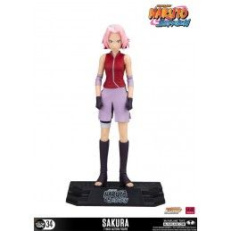 MC FARLANE NARUTO SHIPPUDEN COLOR TOPS SAKURA 18CM ACTION FIGURE