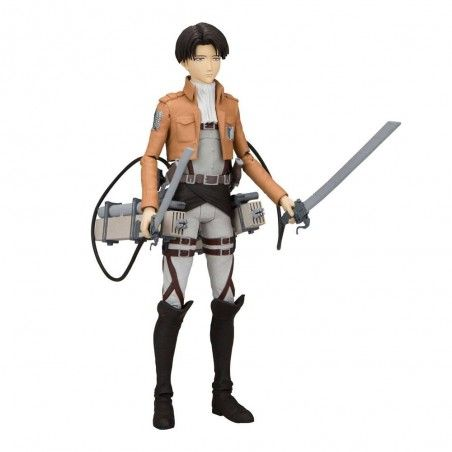 ATTACK ON TITAN LEVI ACKERMAN 18CM ACTION FIGURE