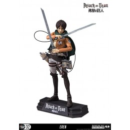 ATTACK ON TITAN - EREN JAEGER COLOR TOPS ACTION FIGURE MC FARLANE