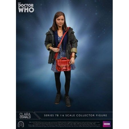 DOCTOR WHO SERIES 7 - CLARA OSWALD 1/6 SCALE 30CM ACTION FIGURE