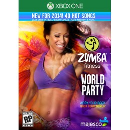 ZUMBA FITNESS WORLD PARTY XBOXONE NUOVO ITALIANO