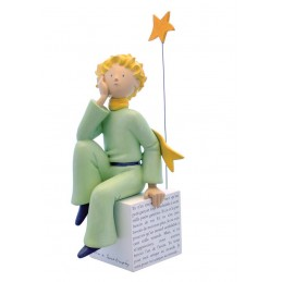 IL PICCOLO PRINCIPE - LITTLE PRINCE DREAMING RESIN STATUE 27CM FIGURE