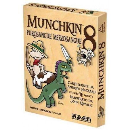MUNCHKIN 8 PUROSANGUE MEZZOSANGUE ESPANSIONE ITALIANO RAVEN