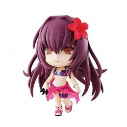 FATE/GRAND ORDER CHIBI KYUN CHARA ASSASSIN/SCATHACH ACTION FIGURE BANPRESTO