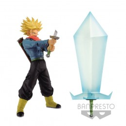 DRAGON BALL SUPER SUPER SAIYAN 2 TRUNKS AND BLADE OF HOPE ACTION FIGURE BANPRESTO