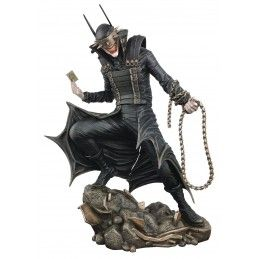 DC COMICS GALLERY - THE BATMAN WHO LAUGHTS 26 CM STATUE FIGURE DIAMOND SELECT