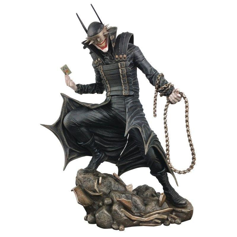 DC COMICS GALLERY - THE BATMAN WHO LAUGHTS 26 CM STATUE FIGURE DIAMOND SELECT