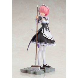 RE:ZERO STARTING LIFE IN ANOTHER WORLD PVC STATUE 1/7 RAM 23 CM FIGURE GOOD SMILE COMPANY
