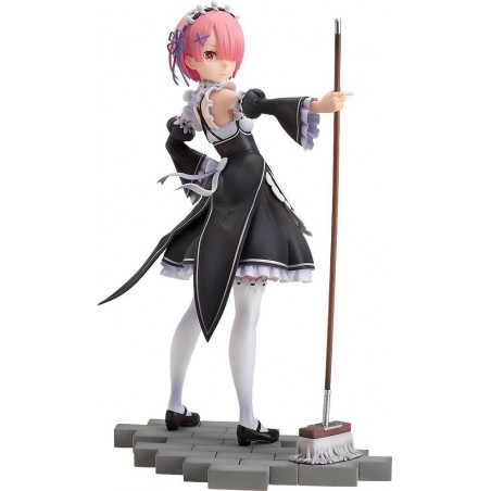 RE:ZERO STARTING LIFE IN ANOTHER WORLD PVC STATUE 1/7 RAM 23 CM FIGURE