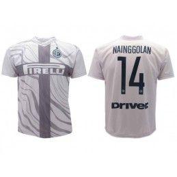MAGLIA CALCIO UFFICIALE FC INTERNAZIONALE TERZA MAGLIA 2018 2019 NAINGGOLAN