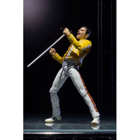 QUEEN FREDDIE MERCURY ACTION FIGURE S.H.F. S.H. FIGUARTS