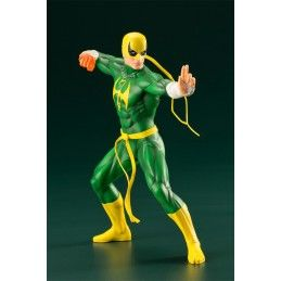 THE DEFENDERS SERIES IRON FIST ARTFX+ STATUE 19 CM FIGURE