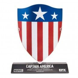 EFX COLLECTIBLES MARVEL CAPTAIN AMERICA THE FIRST AVENGER 1940 SHIELD METAL REPLICA