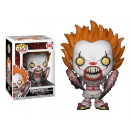 FUNKO POP! IT - PENNYWISE WITH SPIDER LEGS BOBBLE HEAD KNOCKER FIGURE