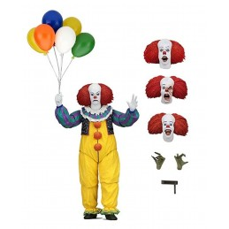 IT - ULTIMATE PENNYWISE 1990 TV SERIES DELUXE ACTION FIGURE NECA
