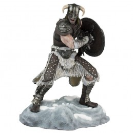 THE ELDER SCROLLS V SKYRIM - DRAGONBORN STATUE PVC FIGURE
