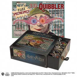 NOBLE COLLECTIONS HARRY POTTER THE QUIBBLER MAGAZINE COVER 1000 PIECES PEZZI JIGSAW PUZZLE