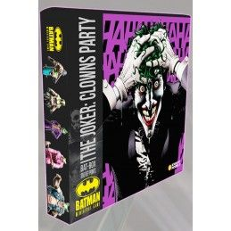BATMAN MINIATURE GAME - THE JOKER CLOWNS PARTY BAT-BOX MINI RESIN STATUE