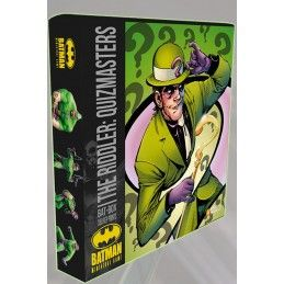 KNIGHT MODELS BATMAN MINIATURE GAME - THE RIDDLER QUIZMASTERS BAT-BOX MINI RESIN STATUE