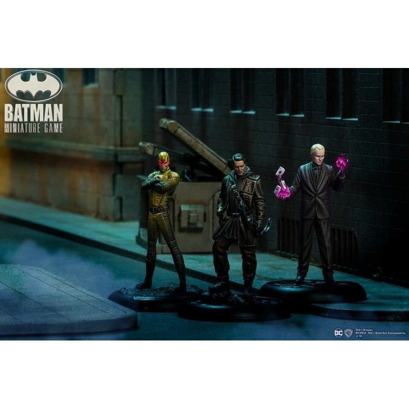 BATMAN MINIATURE GAME - LEGION OF DOOM MINI RESIN STATUE FIGURE