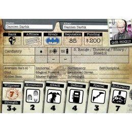 KNIGHT MODELS BATMAN MINIATURE GAME - LEGION OF DOOM MINI RESIN STATUE FIGURE