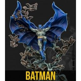 BATMAN MINIATURE GAME - BATMAN DC MULTIVERSE MINI RESIN STATUE FIGURE