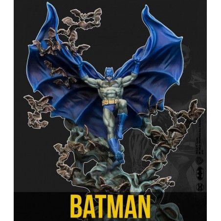 BATMAN MINIATURE GAME - BATMAN DC MULTIVERSE MINI RESIN STATUE FIGURE