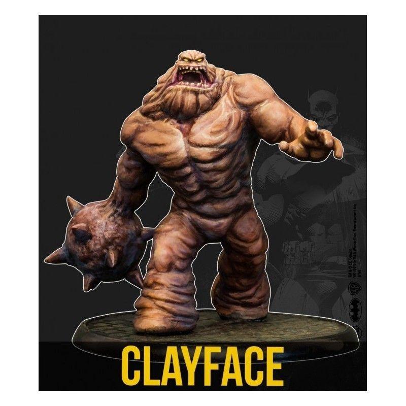 BATMAN MINIATURE GAME - CLAYFACE DC MULTIVERSE MINI RESIN STATUE FIGURE