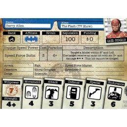 KNIGHT MODELS BATMAN MINIATURE GAME - TEAM FLASH MINI RESIN STATUE FIGURE