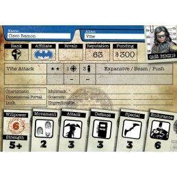 BATMAN MINIATURE GAME - TEAM FLASH MINI RESIN STATUE FIGURE