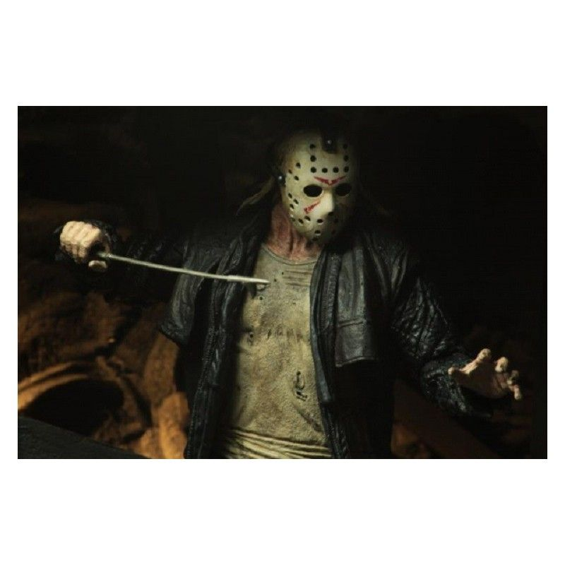 NECA FRIDAY THE 13TH - ULTIMATE JASON 2009 ACTION FIGURE