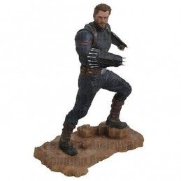 MARVEL GALLERY - AVENGERS 3 INFINITY WAR CAPTAIN AMERICA 25CM STATUE FIGURE DIAMOND SELECT