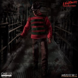 MEZCO TOYS A NIGHTMARE ON ELM STREET - FREDDY KRUEGER CLOTH ONE:12 ACTION FIGURE